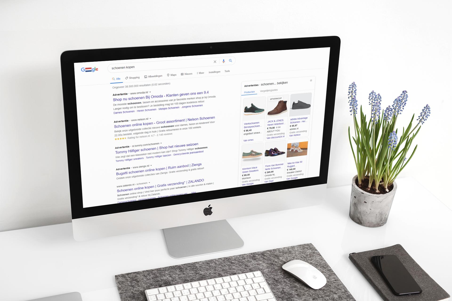 Google Ads uitbesteden aan een specialist?